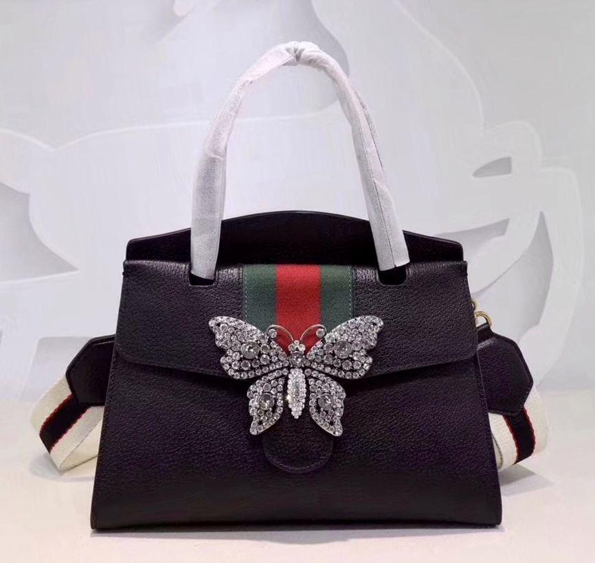 99abe157e022 GucciTotem medium top handle bag Black - Bella Vita Moda  gucci  guccibag   guccilover