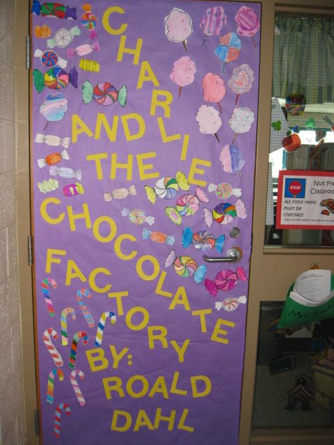 Classroom Decorations For March ~ March is reading month door decorating classroom decor