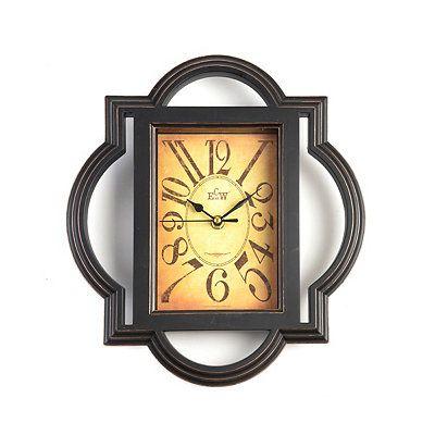 Clarice Quatrefoil Wall Clock