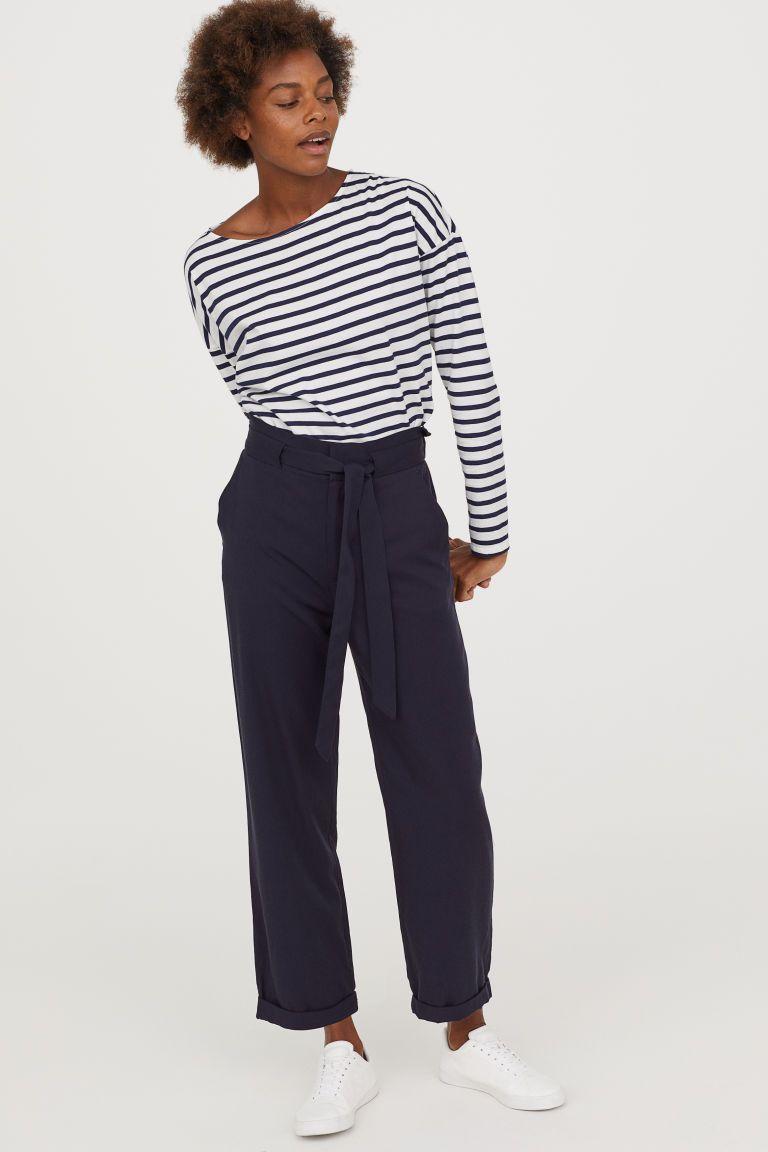 e61d8c63c Paper bag trousers in 2019   B&M - Comparative Shop   Paperbag pants ...