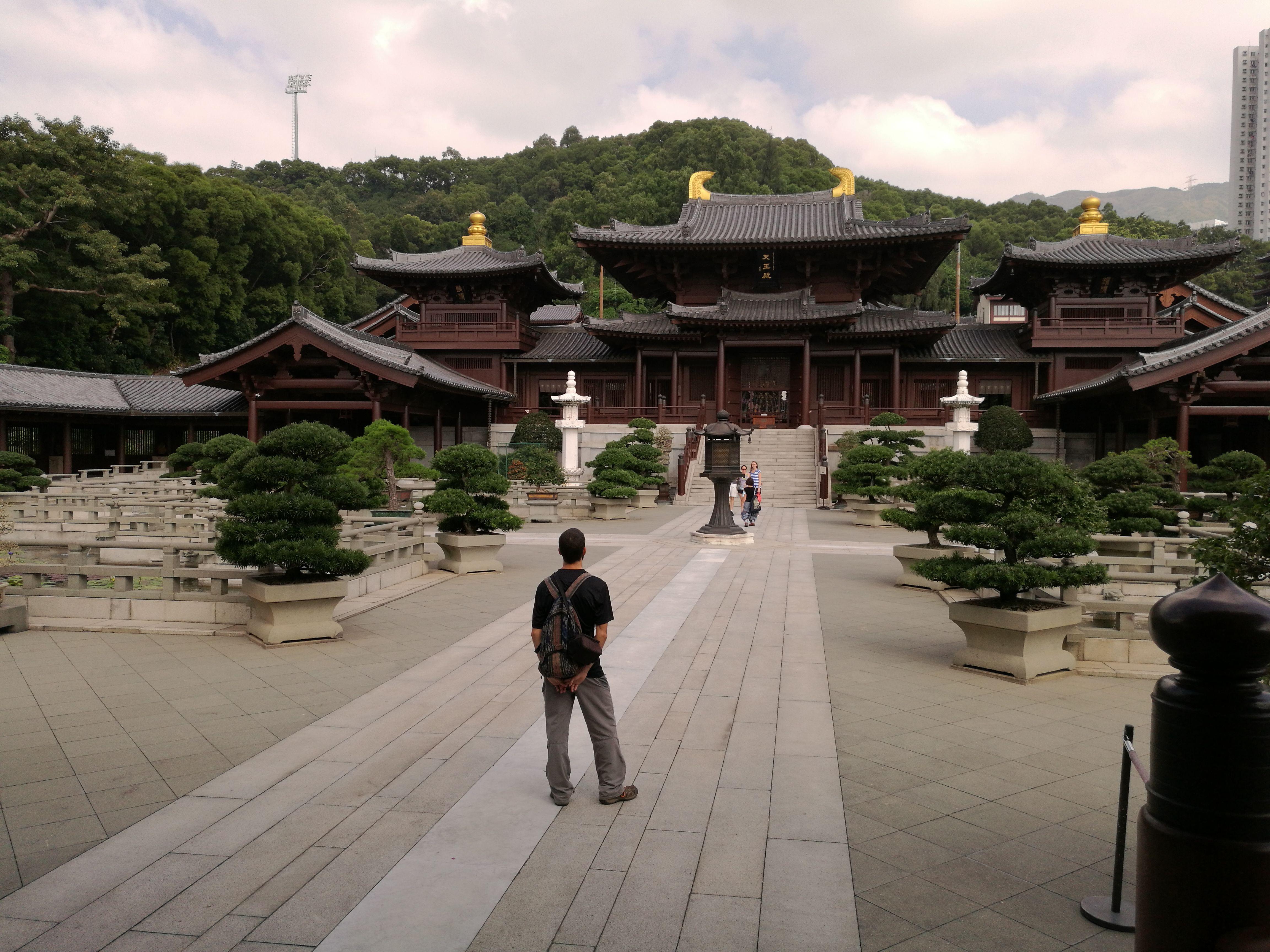 Templo japonés en Hong Kong
