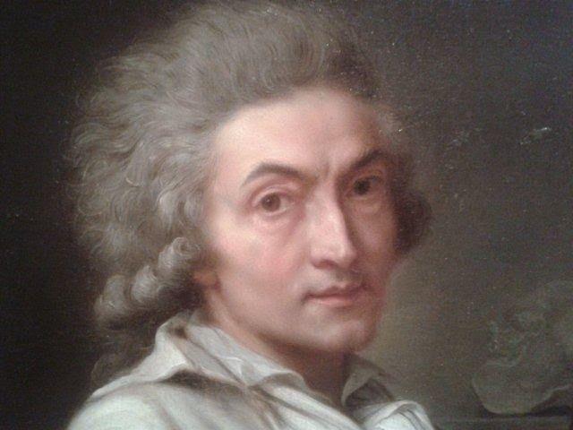 Avec le peintre Pierre Lacour, sur le quai des Chartrons, vers 1806