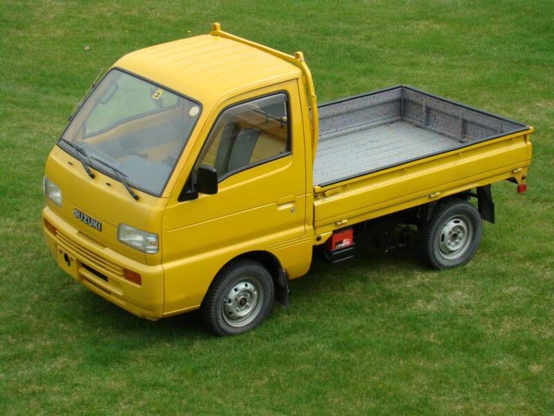 Suzuki Carry 4WD Pick Up Suzuki carry, 4x4 trucks for