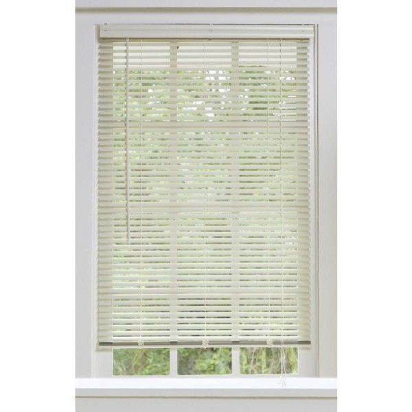 Aluminum Alabaster Window Blinds With 1 Inch Slats Blinds For Windows Blinds Aluminum Blinds