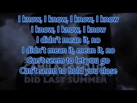 I Know What You Did Last Summer - Shawn Mendes & Camila Cabello (Lyrics ...