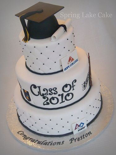 Graduation Cake With Images Graduation Cakes High School