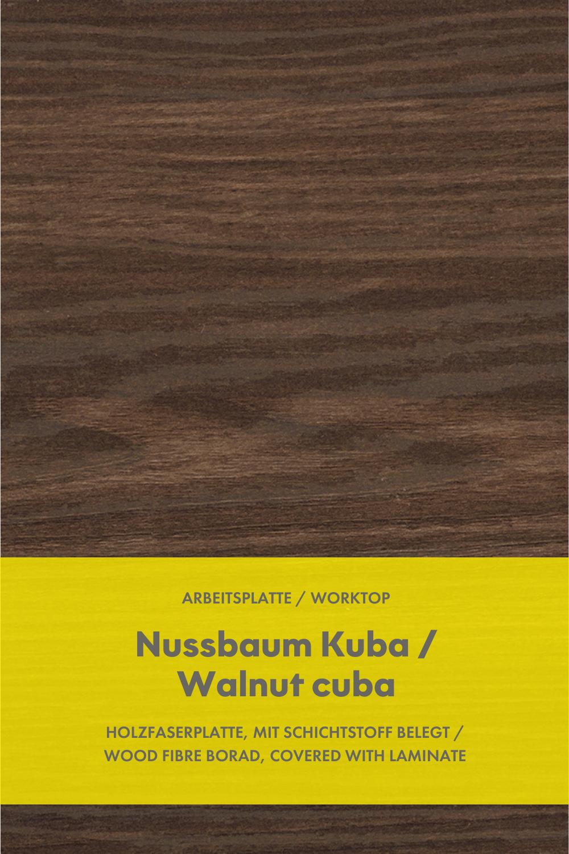 Kuchen Arbeitsplatte Nussbaum Kuba Kitchen Worktop Walnut Cuba In 2021 Arbeitsplatte Laminat Nussbaum Nolte Kuche