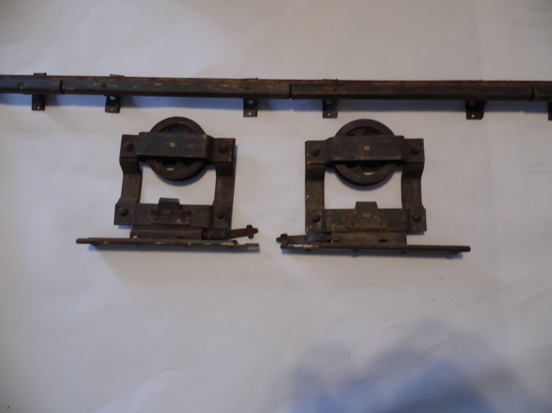 Antique Vintage Pocket Door Barn Door Top Mount Rollers With