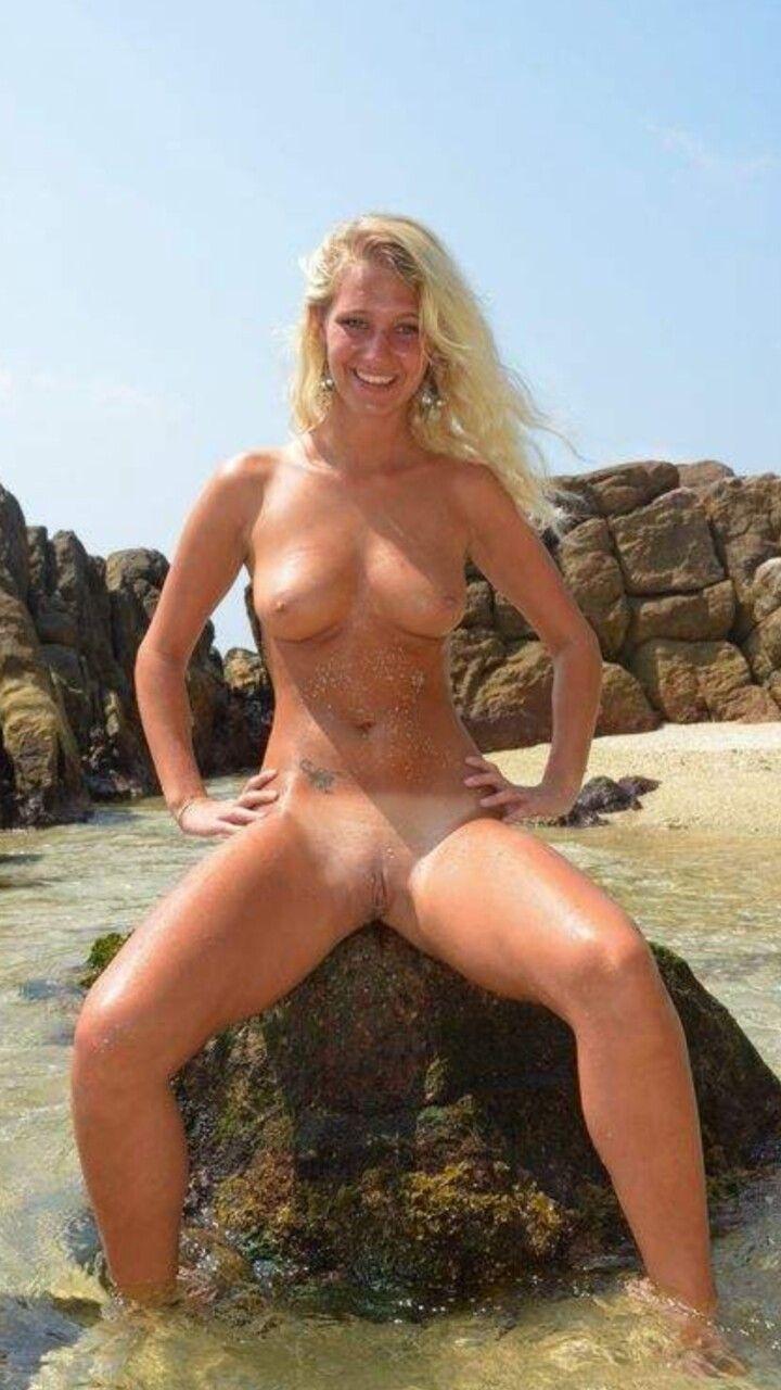 Nude Beach Sun