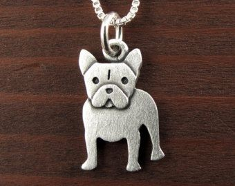 French Bulldog Necklace Brown By Goodafternine On Etsy Con