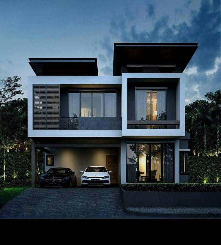 Estilo contempor neo mostramos dise o de fachadas y for Fachadas de casas modernas en la ciudad