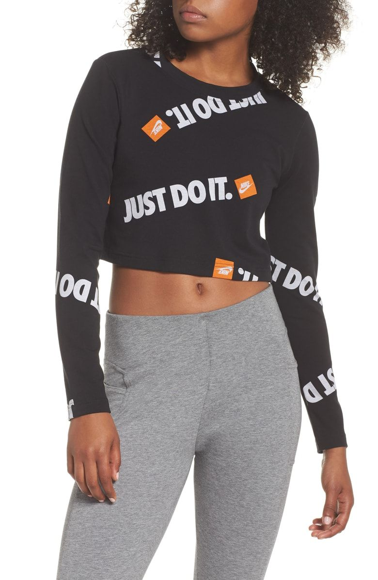 3daa0d87 Free shipping and returns on Nike Sportswear JDI Long Sleeve Women's Top at  Nordstrom.com