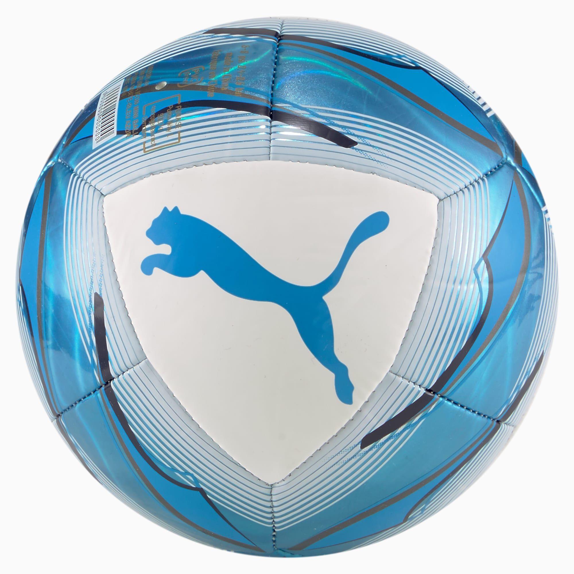 Women's PUMA Olympique De Marseille Icon Mini Football, White/Azure,  Accessories | Olympique de marseille, Olympique marseille, Blau