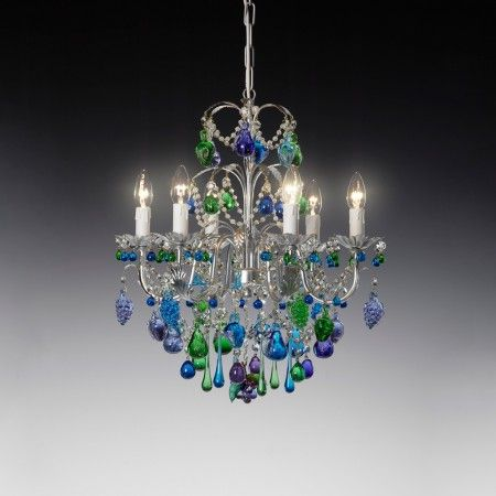 Atlandide Murano Glass Chandelier With Images Chandelier For