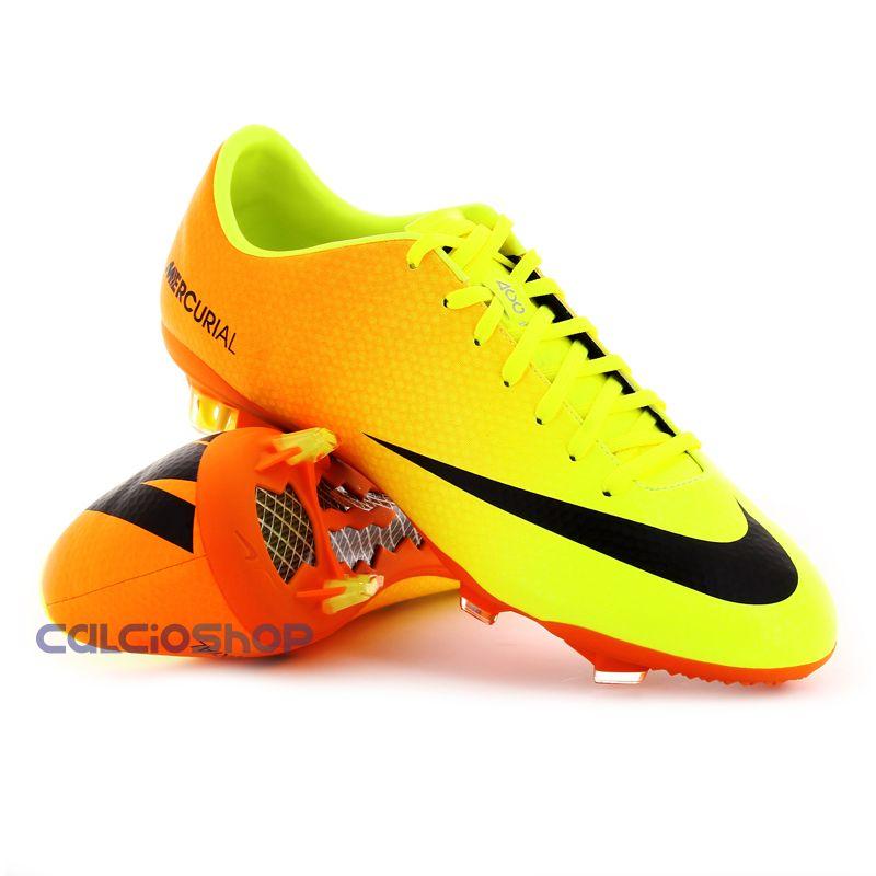Nike Mercurial Gialle E Verdi