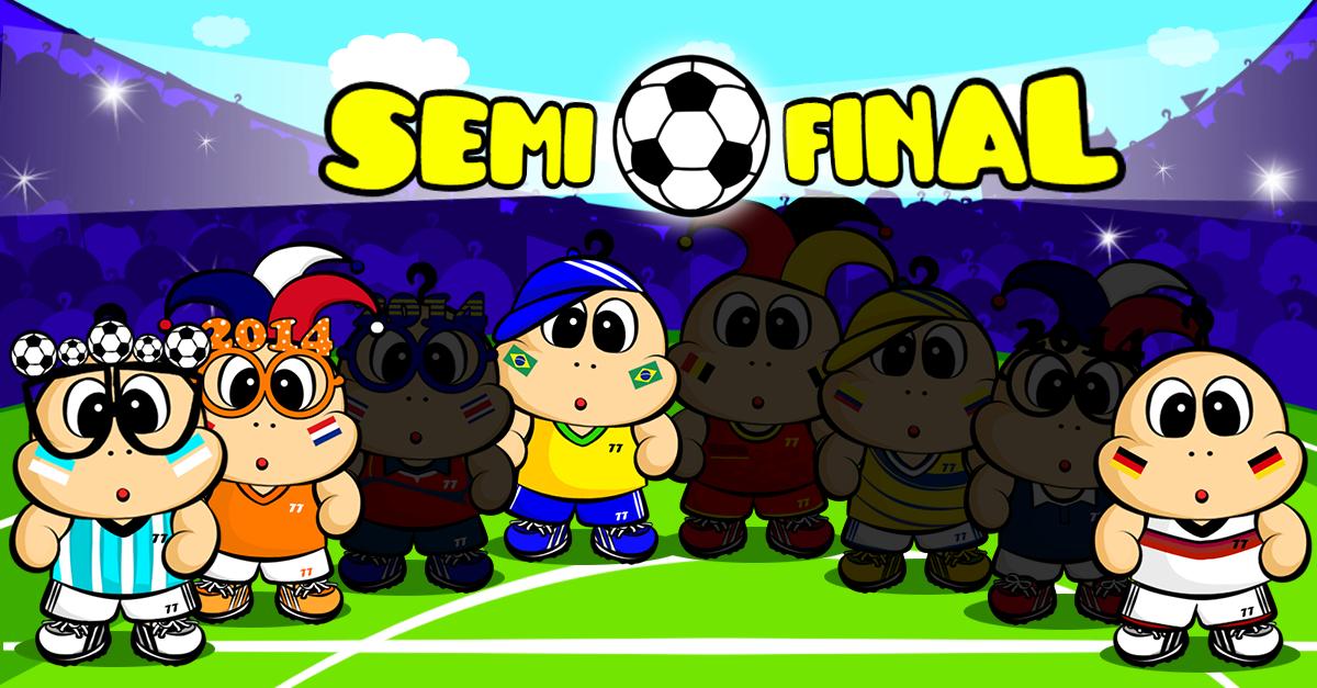 It's Semi Final! Enjoy world Cup with BubbleTT Game app