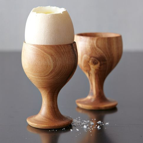 In a land where the hard-boiled egg is a must at breakfast, I want these simple, pretty little guys.
