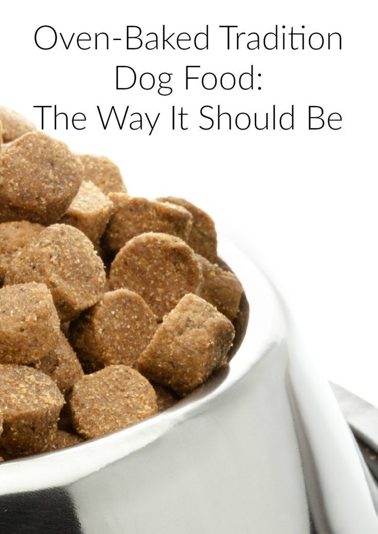 Oven Baked Tradition Dog Food The Way It Should Be Dog Food