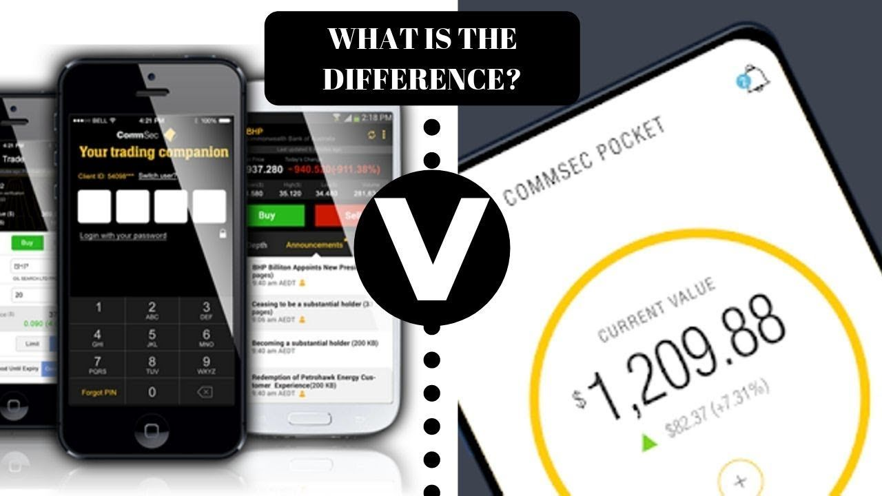 What Is The Commsec Pocket App Difference Between Commsec And Commsec Pocket Youtube Pocket App App Investing