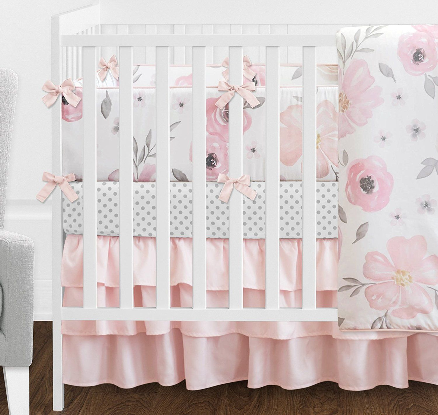for crib barn blush bed baby sheet girl full size etsy of cheating set sets pink cribs white sheets girls bedding nursery pottery