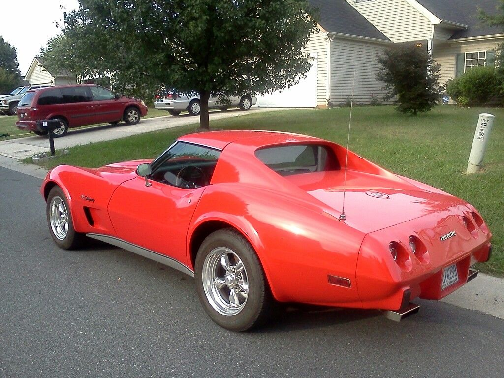 1976 Torch Red Stingray Corvette Stingray Chevrolet Corvette