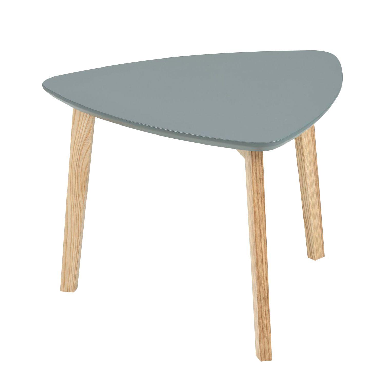 Morteens Möbel beistelltisch mern esche teilmassiv dunkelgrau morteens jetzt