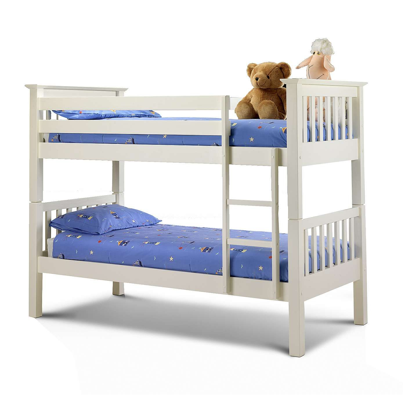 2ft 6 Cabin Bed Kids White Windsor Bunk Bed Dunelm Bedroom Small Niños