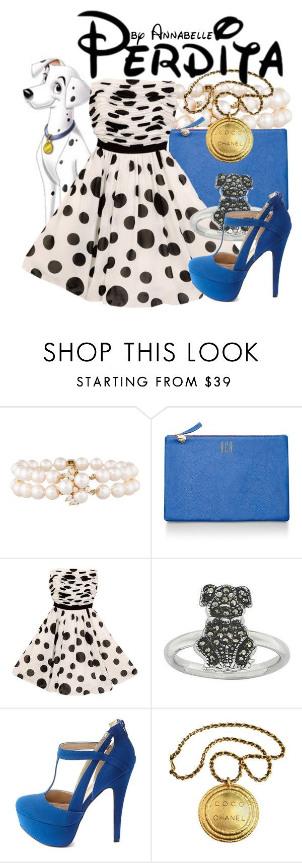 """""""Perdita"""" by annabelle-95 ❤ liked on Polyvore featuring Clare V., GUESS, Charlotte Russe and Chanel"""