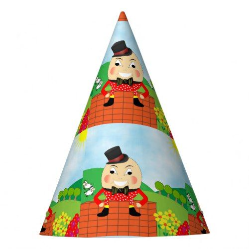 Humpty Dumpty Themed Kids Birthday Party Editable Party