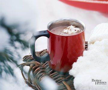 Hot Chocolate = comfort!