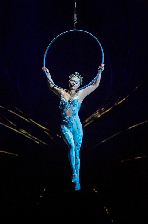Escape To Cirque S Amaluna For An Evening And Feel Like You Re On Another Planet Aerial Hoop Aerial Costume Circus Art