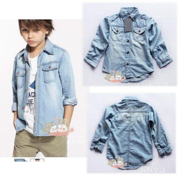 698749e27 boy in denim shirt | Boy Style | Boys denim shirt, Denim, Little boy ...