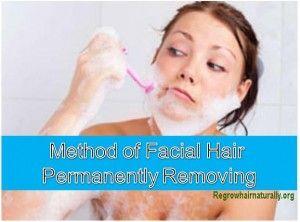 Sudden facial hair growth in women, Man kiss ass