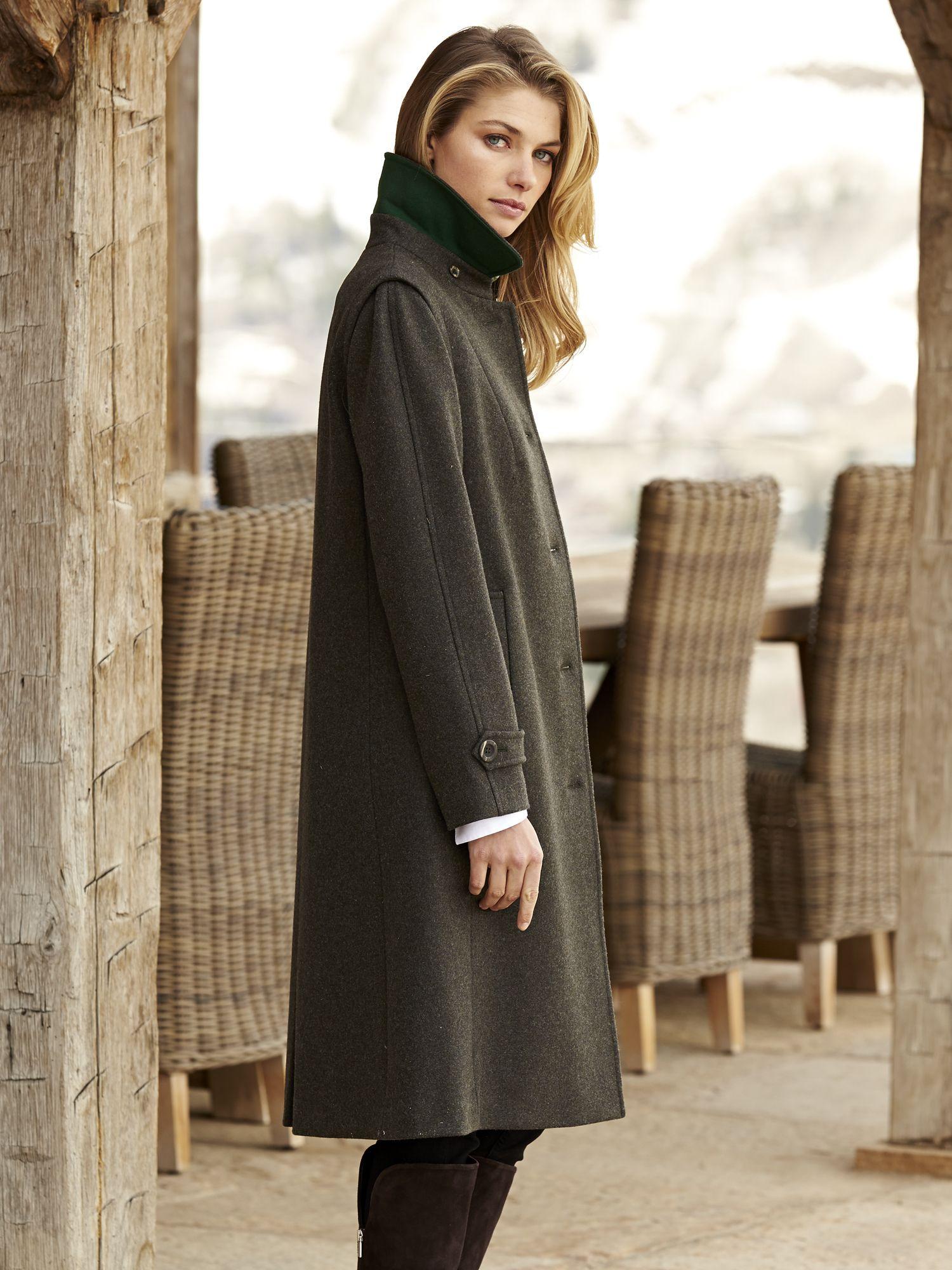 dd95f3ea8 Huberta Loden Coat | coats in 2019 | Outerwear women, Coat, Fashion