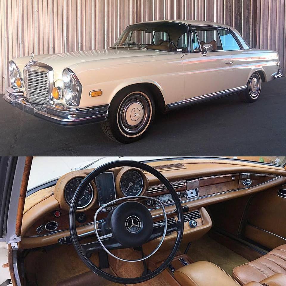 MERCEDESMONDAY '70 MercedesBenz 280SE Low Grille Ivory
