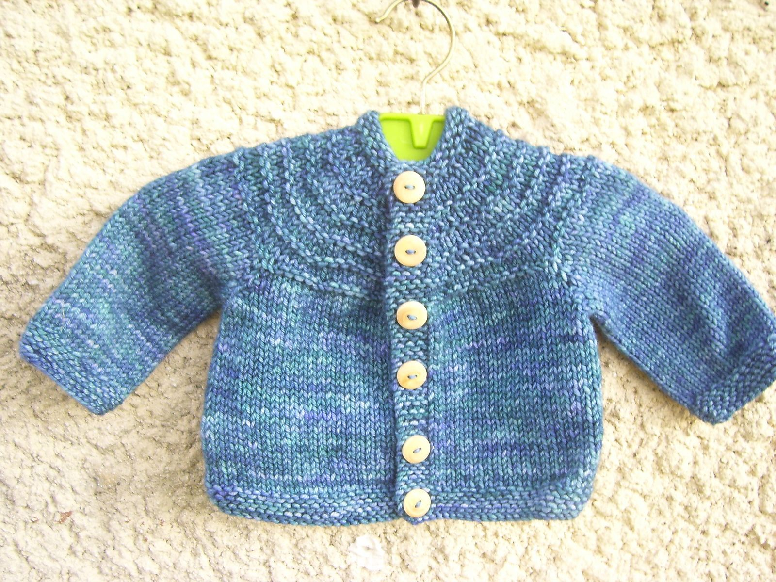 Baby Boy 5 Hour Sweater By Gail Bable - Free Knitted ...