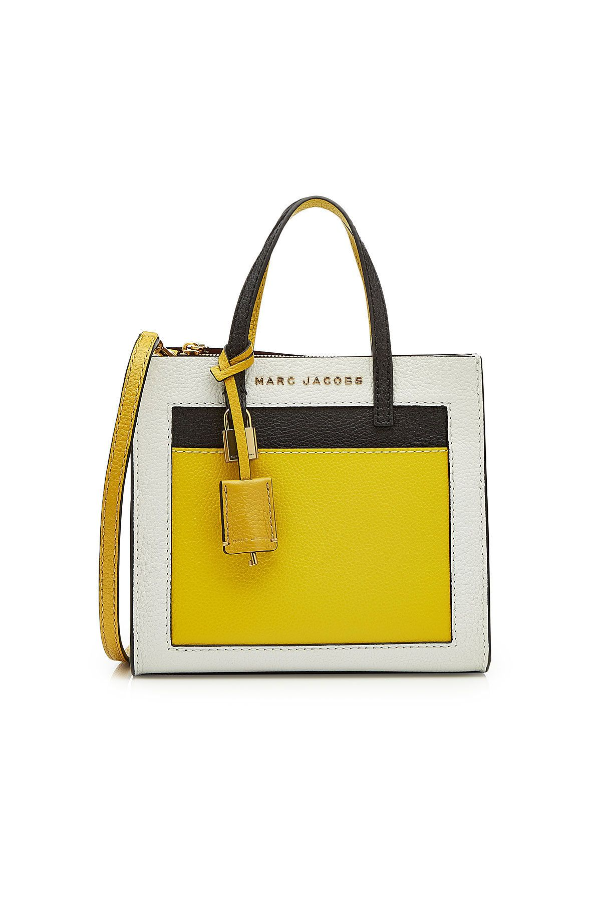 8e86d446b496 MARC JACOBS MINI GRIND LEATHER TOTE.  marcjacobs  bags  leather  hand bags   tote