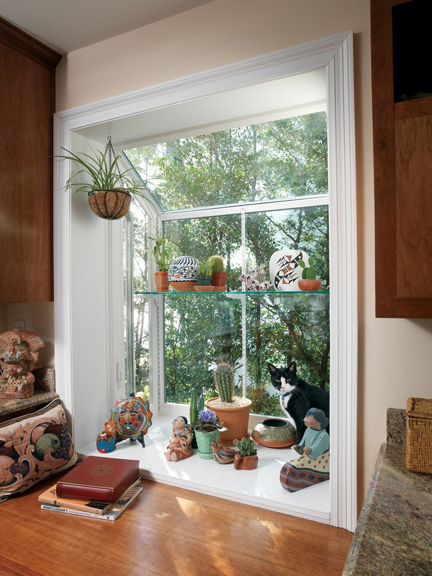 Garden Window Decorating Ideas to Brighten Up Your Home | Pinterest ...
