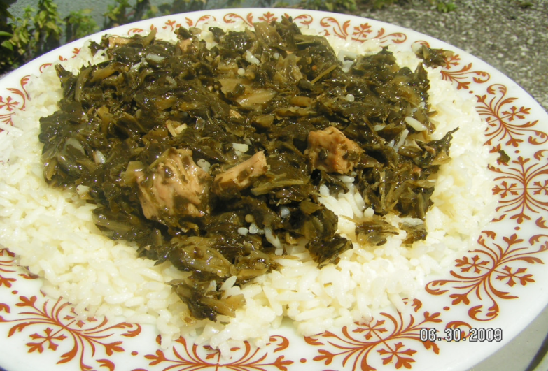 Liberian cabbage with collards good eats drinks pinterest liberian cabbage with collards soul food recipesrice forumfinder Gallery
