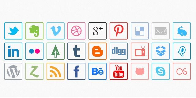 130 Best Free Social Media Icons and Buttons http://designscrazed.org/free-social-media-icons/ via @designscrazed If you haven't been here, you're missing out. Love this site!