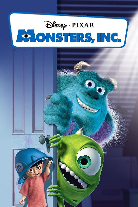 Monsters Inc. Movie Poster. Loved this movie. Kid movies
