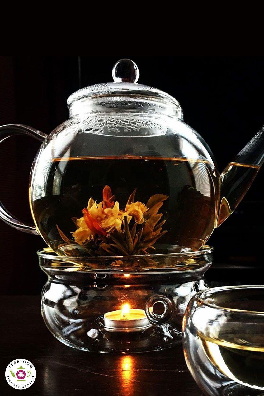 Photo of Teabloom's Celebration Teapot Set and Flowering Tea