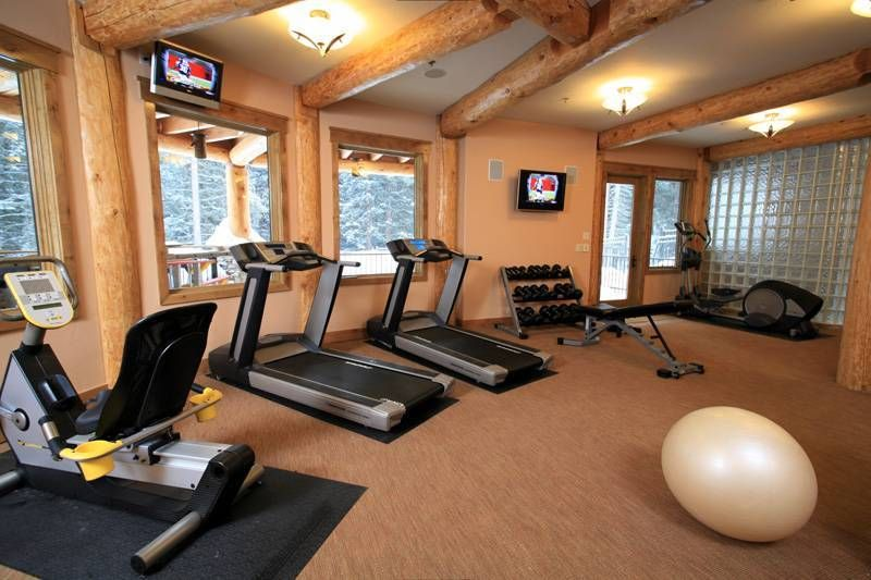 58 Well Equipped Home Gym Design Ideas DigsDigs Workin On My Fitness Dream  Pinterest Basements And