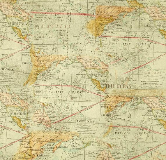Map fabric reminds me of an old atlas i had growing up fab fabric map fabric reminds me of an old atlas i had growing up gumiabroncs Images