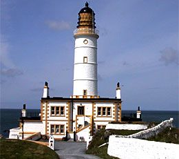 Corsewall Lighthouse Hotel, Scotland  - functional lighthouse since 1815; while it continues to light the way for ships sailing into Loch Ryan, it has been converted into a hotel  - offers unique suites and award-winning food surrounded by 20 acres of the coastline and private grounds