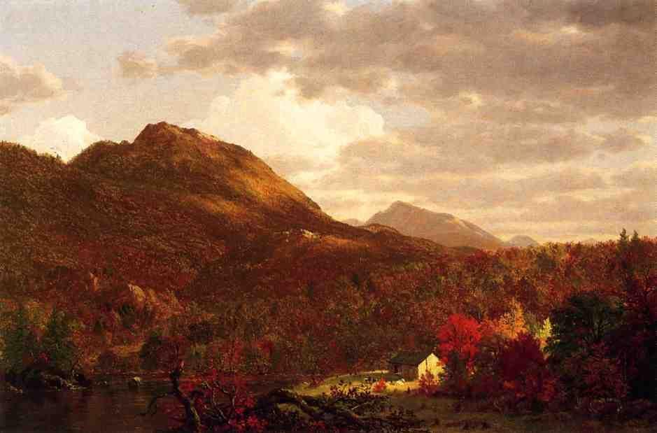 Frederic Edwin Church Autumn On The Hudson In 2020 Hudson