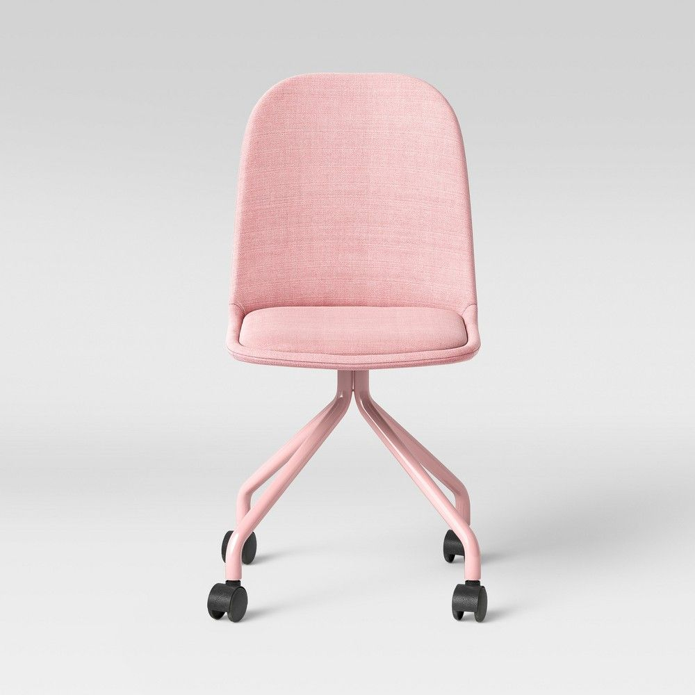 Kids Rolling Desk Chair Pink Pillowfort Rolling Desk Chair
