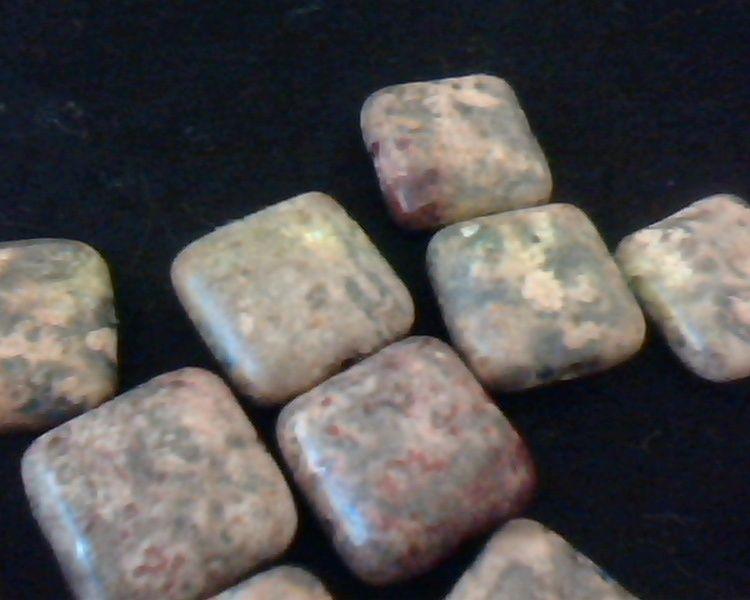 leopard skin jasper beads