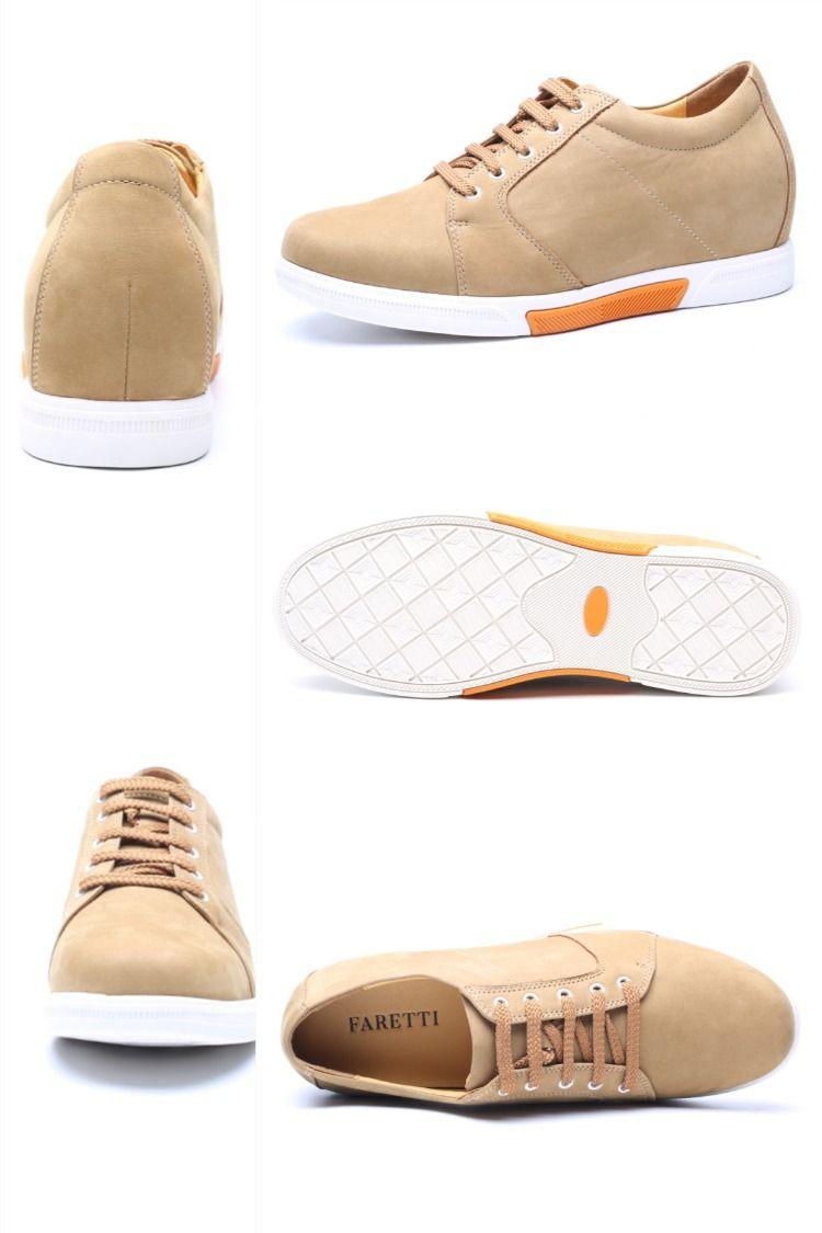 Stylowe Modne Codzienne Buty Zamszowe Bezowe Z Biala Podeszwa Podwyzszajace O 7 Cm Cornelio Converse Sneaker Shoes Converse