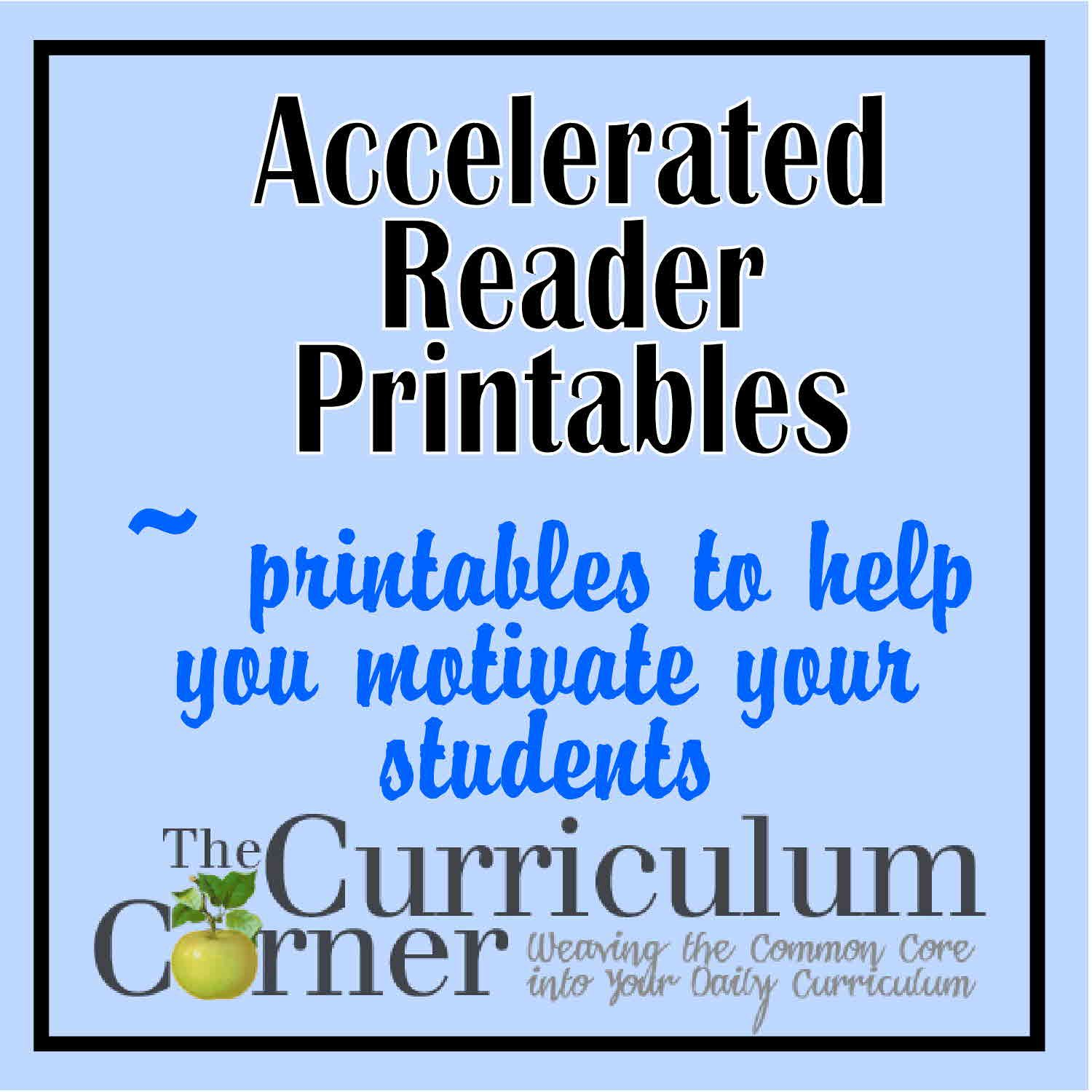 Accelerated Reader Printables